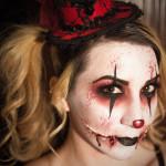 My friend Pamela on Halloween